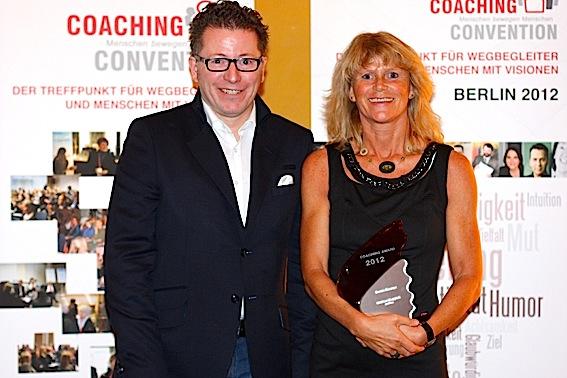 Impressionen von der Verleihung des Coaching Award 2012