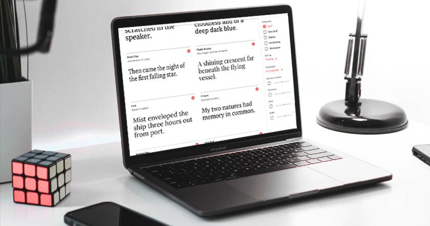 Wie du passende Schriften für deine Website findest