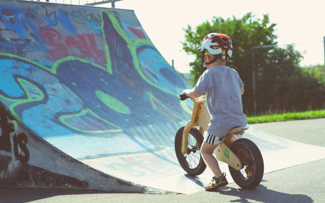 5 steg för att lära ditt barn att cykla