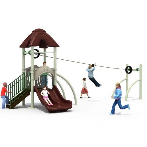 Tirolinas para parques infantiles