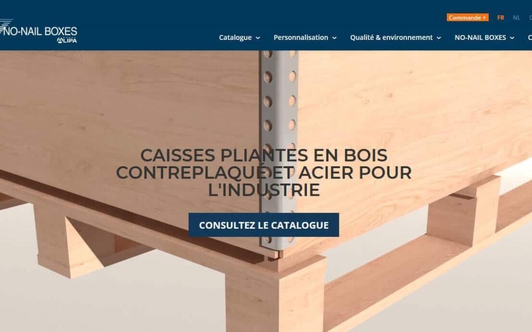 Eine NEUE Website für NO-NAIL BOXES!