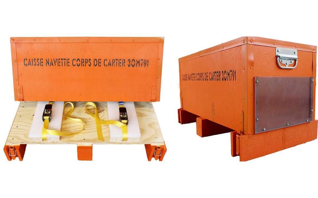 NO-NAIL BOXES: caisse sur mesure