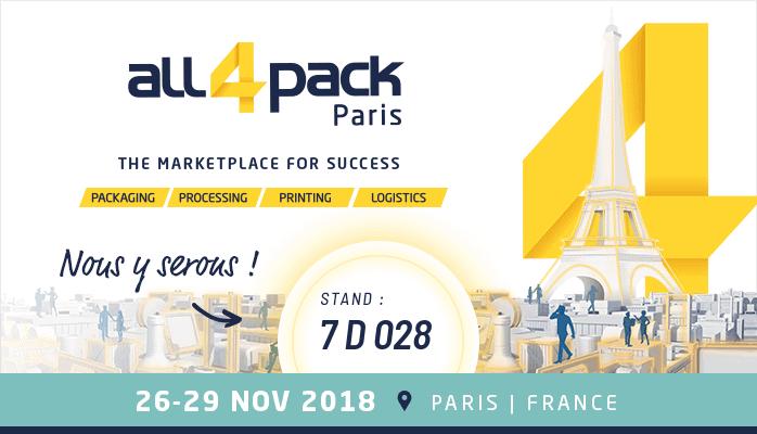 NO-NAIL BOXES: Nos emballages responsables au salon All4Pack de Paris du 26 au 29/11