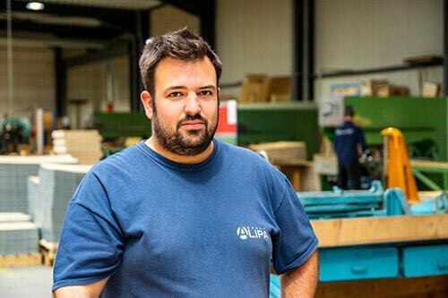 Quentin Thiry: tagsüber Techniker bei NO-NAIL BOXES, nachts Bierliebhaber