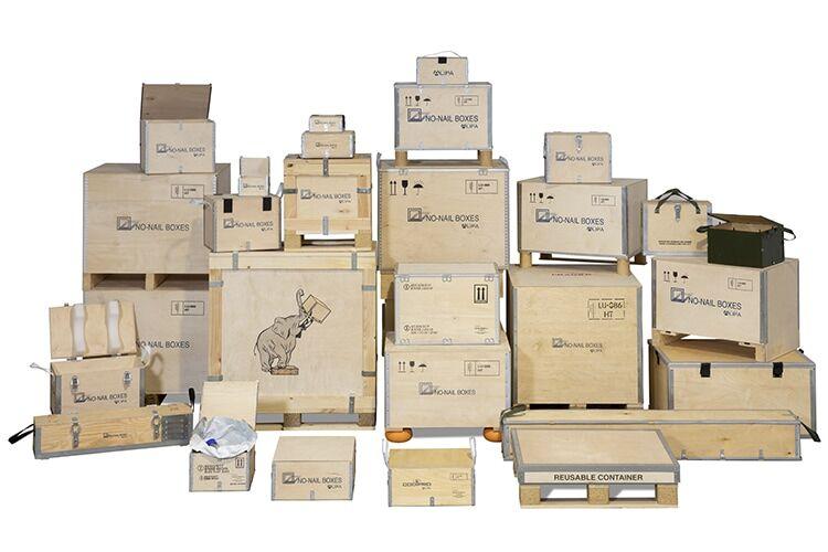 NO-NAIL BOXES: préférer le contreplaqué au carton