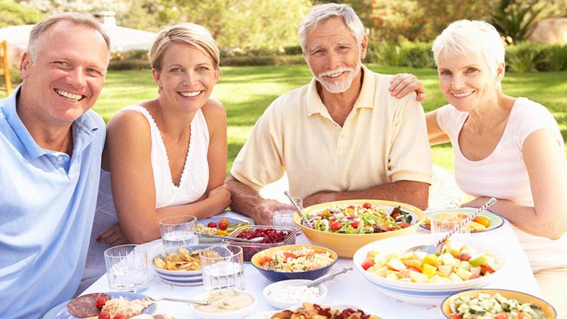 A táplálkozás hatása az öregedésre