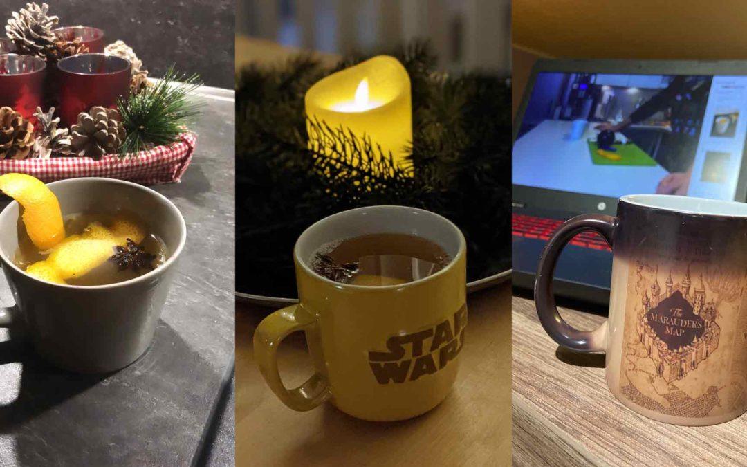 """Einmalige X-Mas Party dank """"Hafenwasser"""" und Weihnachtswichtel."""