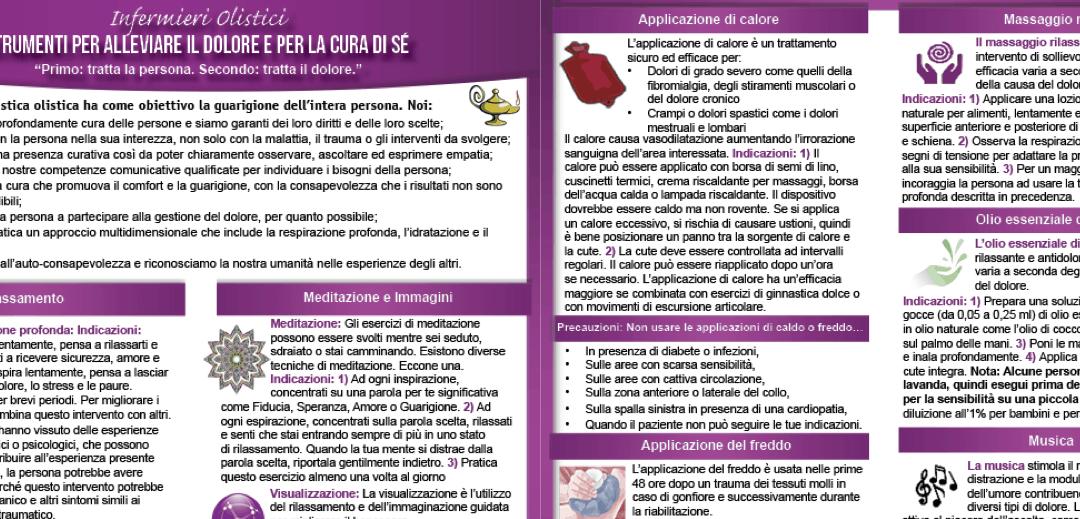 AHNA pubblica la versione italiana del PainToolkit!