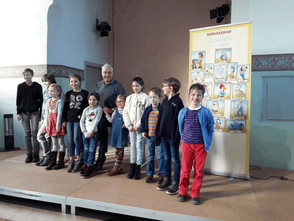Bertram Kaes begeistert Jung und Alt