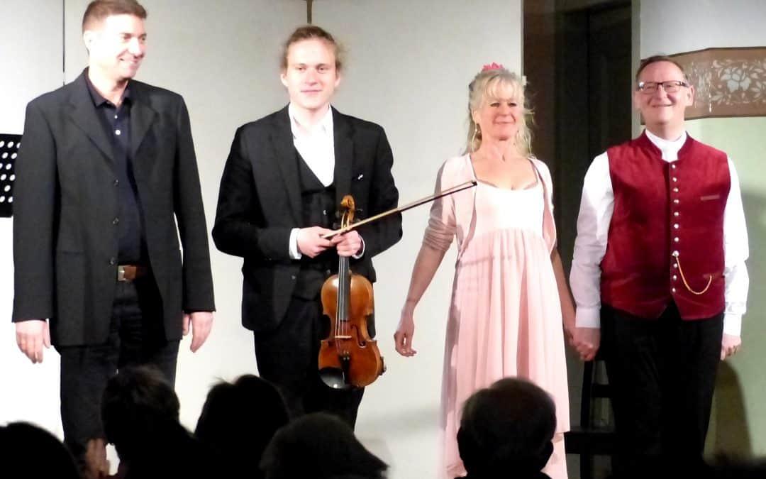 Alte Kirche wird zum Operettenhaus – Operettenabend in der Alten Kirche Mochenwangen
