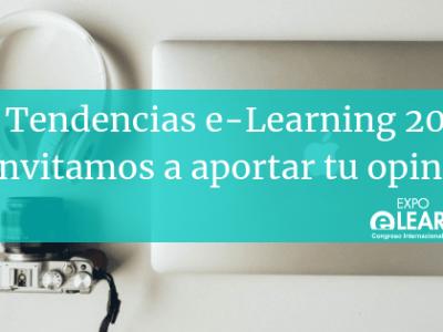 LAS TENDENCIAS E-LEARNING 2019: TE INVITAMOS A APORTAR TU OPINIÓN