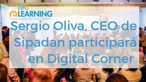 Presentación de Sergio Oliva, CEO de Sipadan, en el Digital Corner