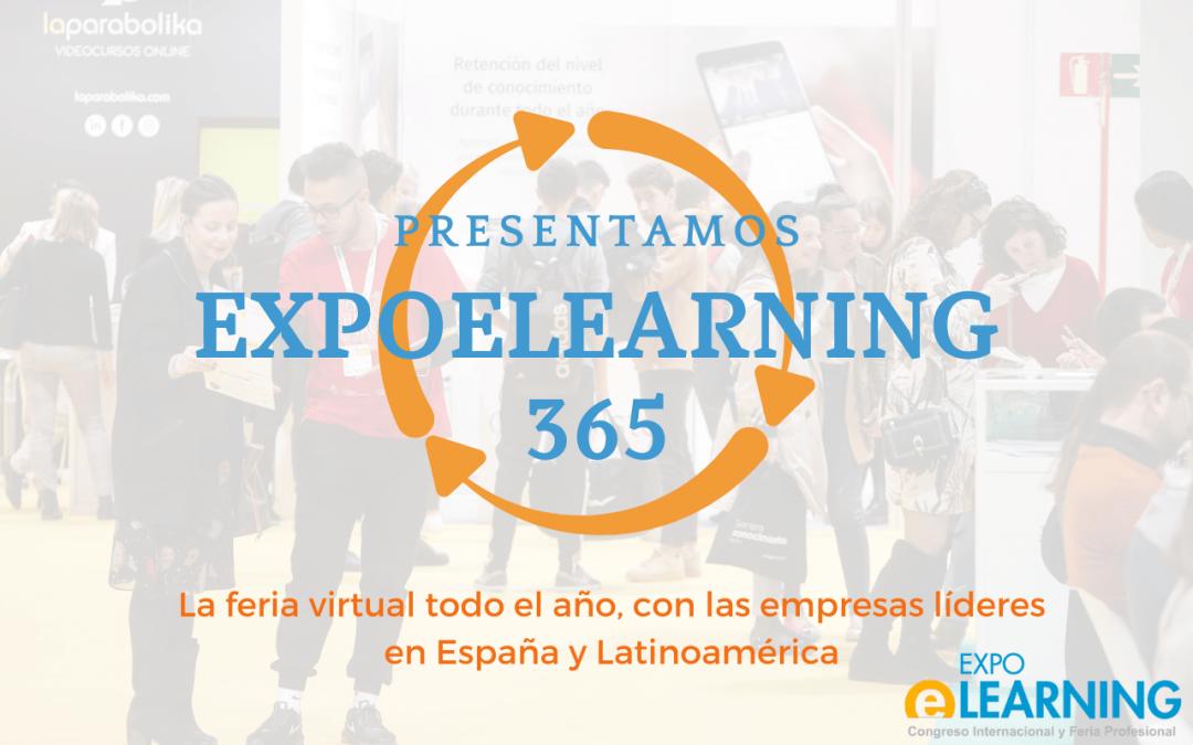 EXPOELEARNING 365. Un nuevo servicio online para empresas