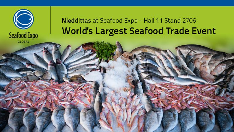 21-23 Aprile: Nieddittas al Seafood Expo, Brussels.
