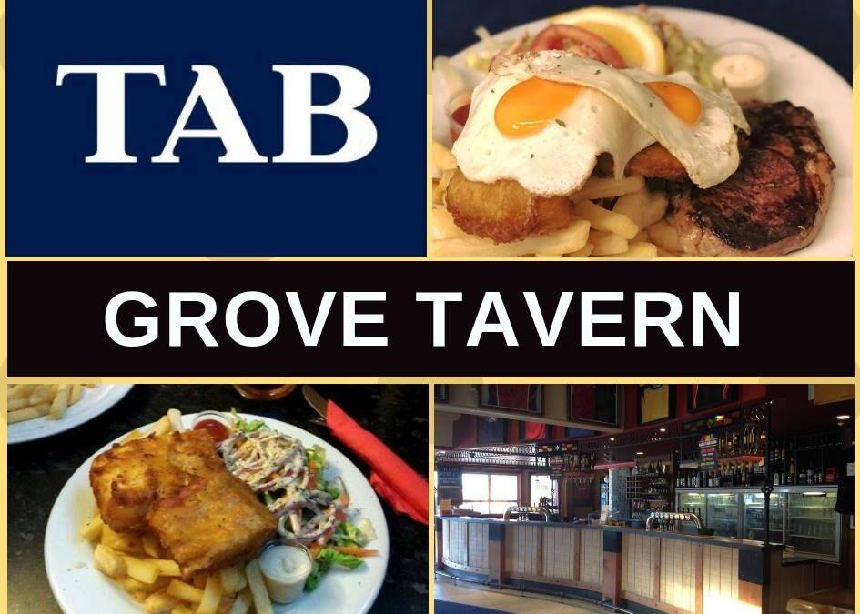 Grove Tavern Blenheim Restaurant Menu, Bar & Pokies Gaming Lounge