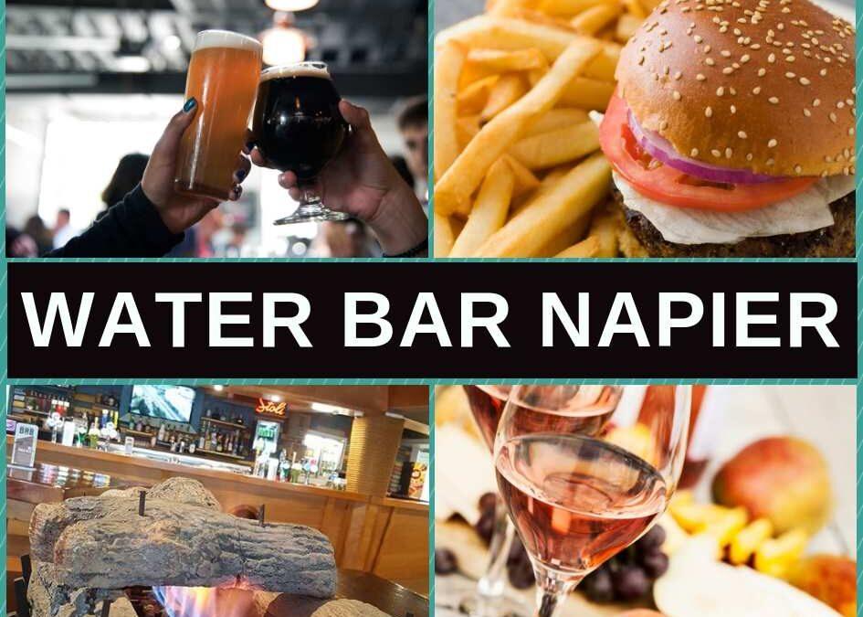 Water Bar Napier, Restaurant Menu & Pokies Gaming Lounge