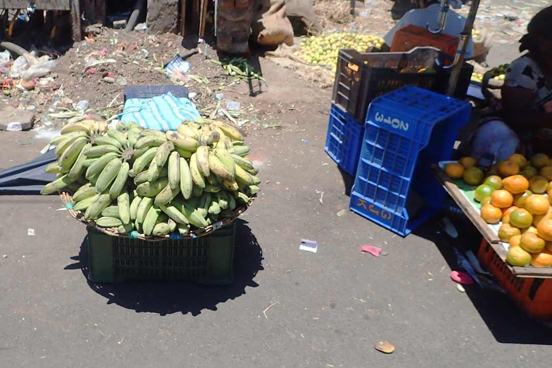 фрукты на улицах вьетнама