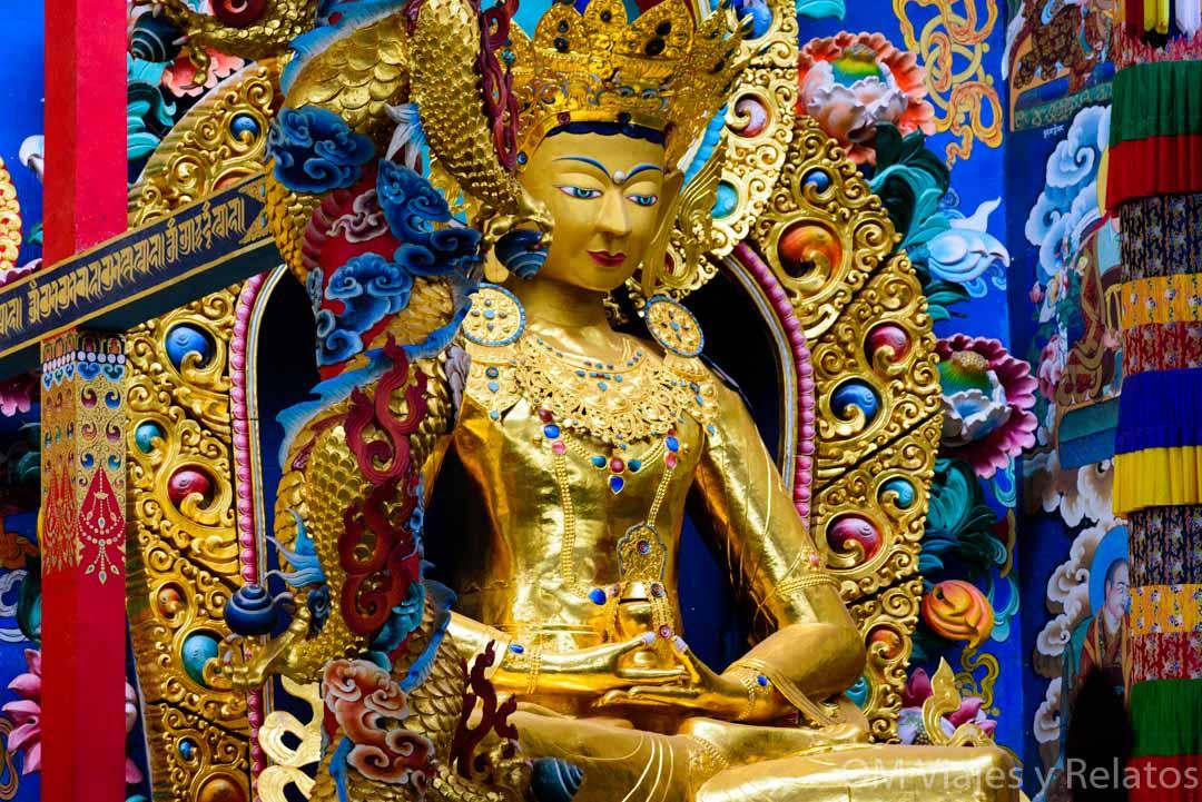 El monasterio de Oro en India