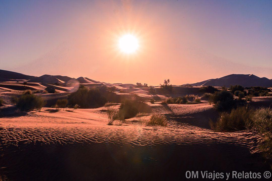 amanecer-desierto-Marruecos