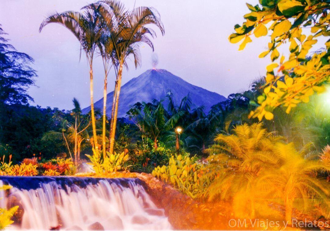 el parque nacional del volcán Arenal