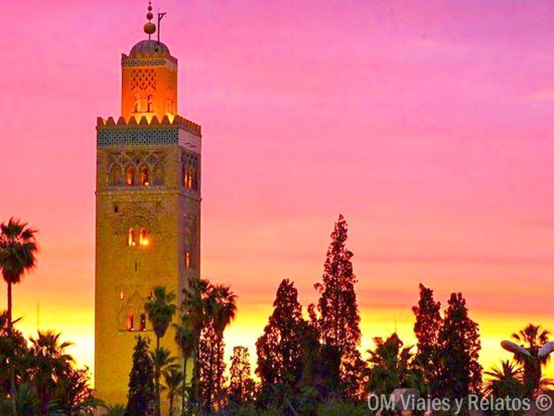 atardecer-Marrakech