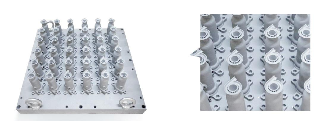 Серійний 3Д друк жароміцним сплавом на 3D-принтері по металу EP-M450