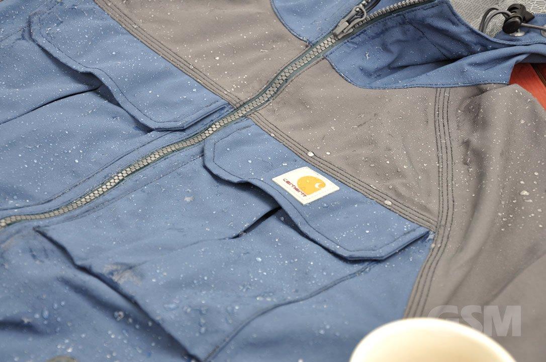 Carhartt Men's Shoreline Angler Jacket Killer RainGear