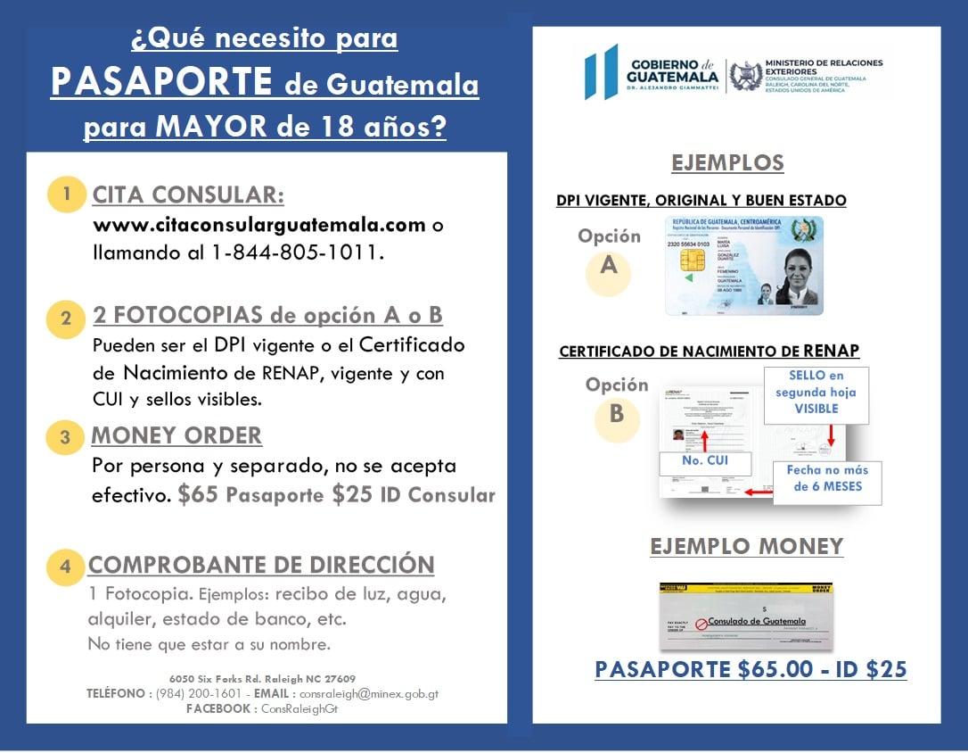 ¿Cómo tramitar el pasaporte guatemalteco?