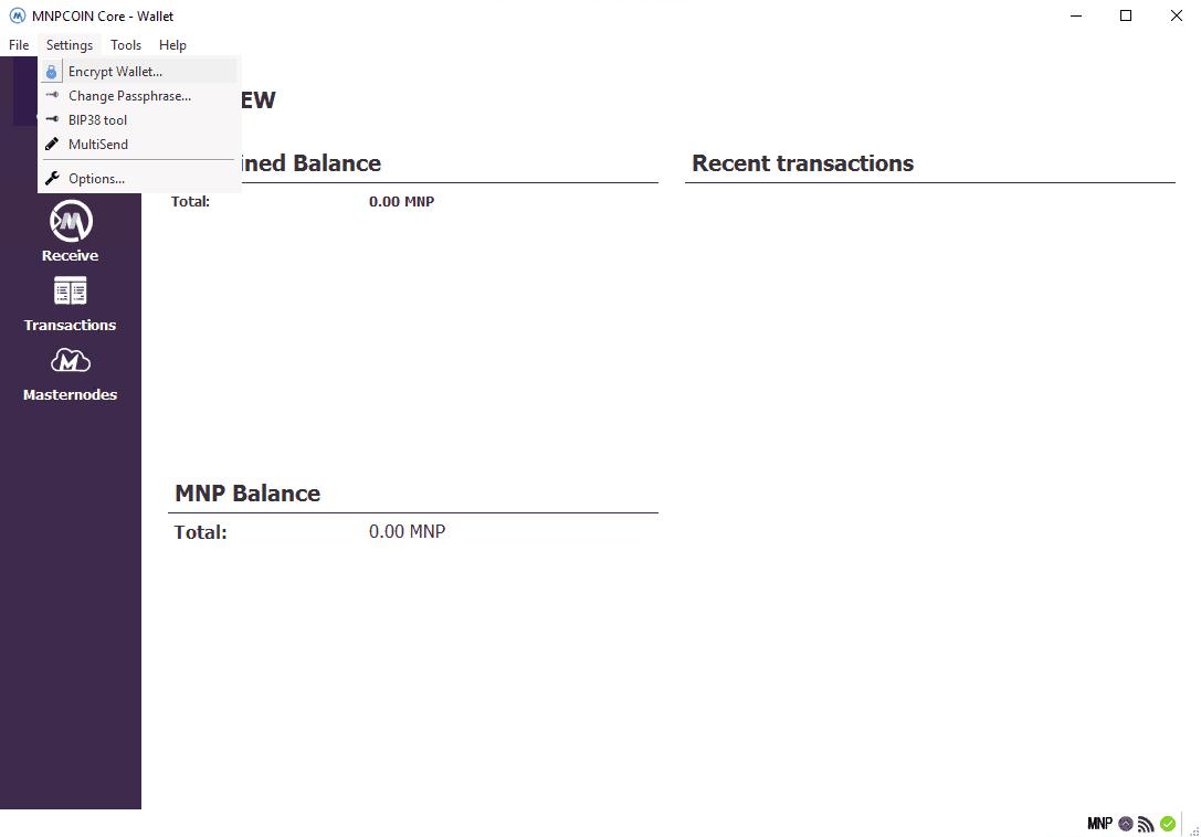 MNP Coin - Masternode Setup - Windows VPS