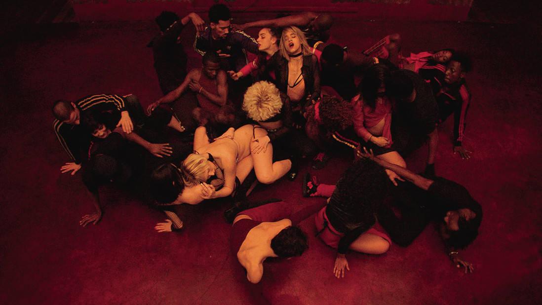 Une scène d'extase dans Climax de Gaspar Noé