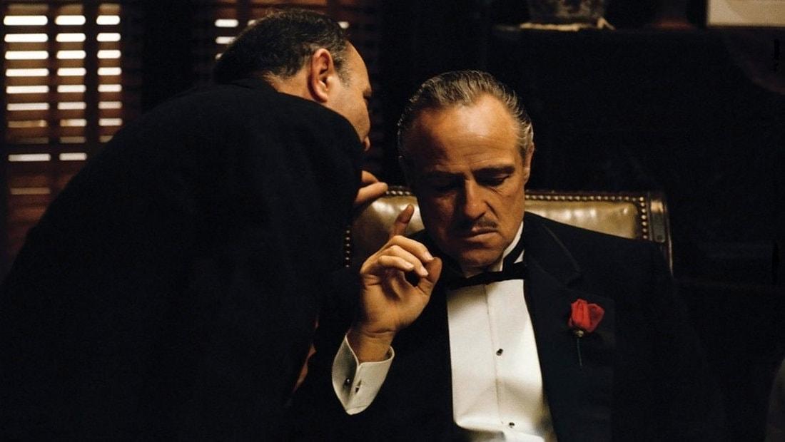 Marlon Brando dans Le Parrain