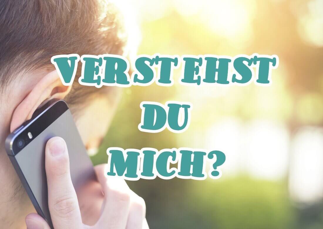 как тренировать аудирование на немецком языке