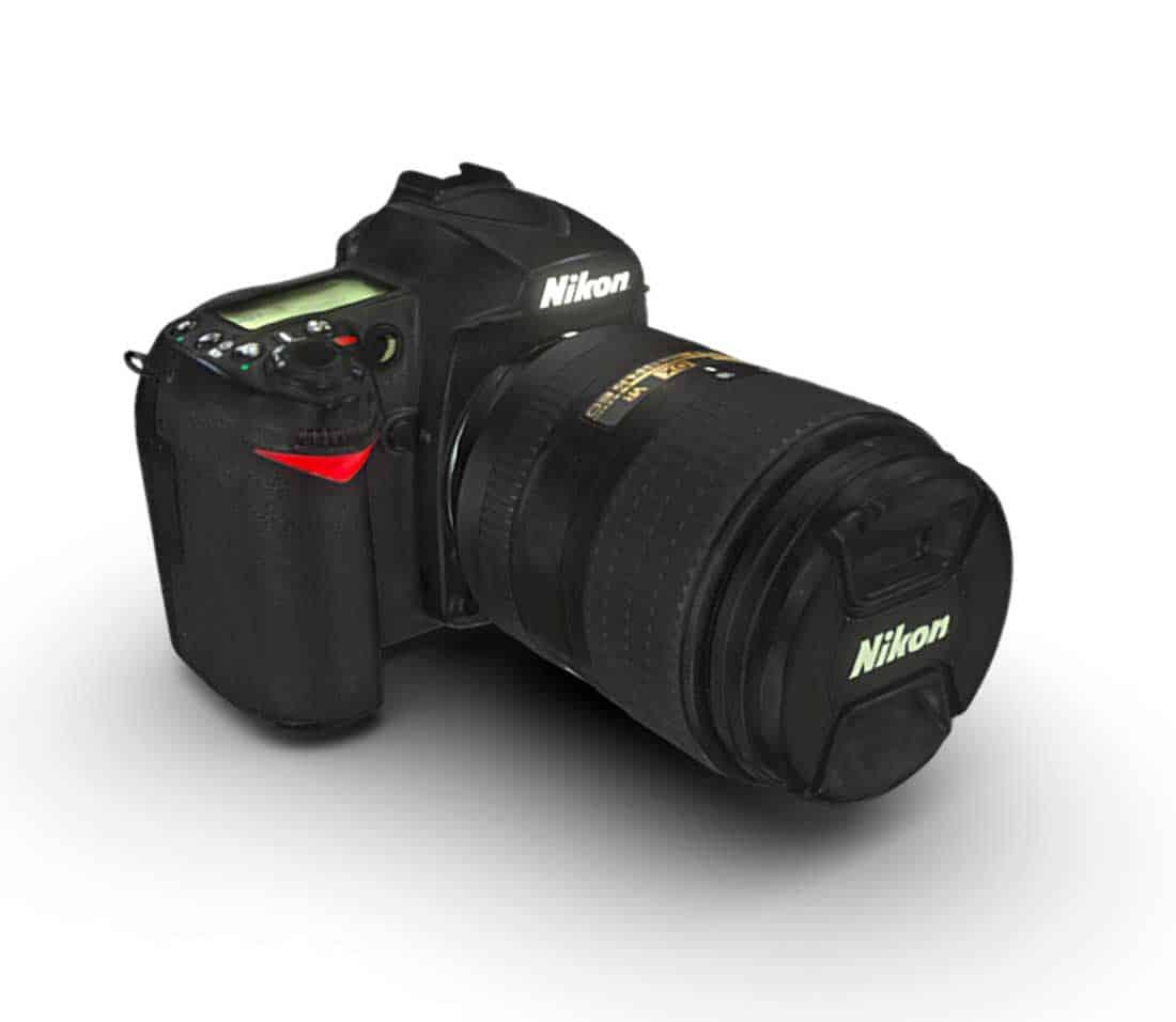 Nikon Kamera als 3d scan