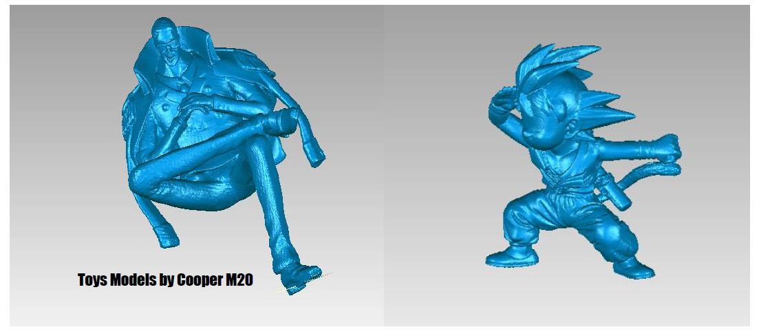Thunk3D Cooper M20 настольный примеры сканирования