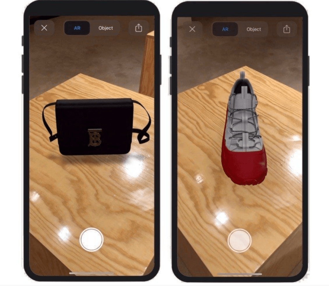 Augmented Reality Example 1