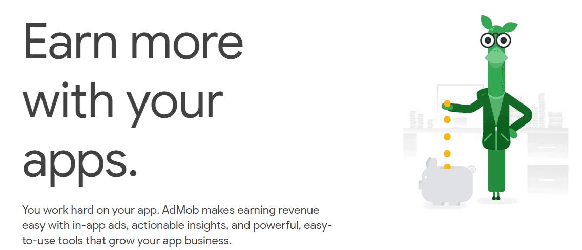 Google AdMob Mobile App Marketing Tool