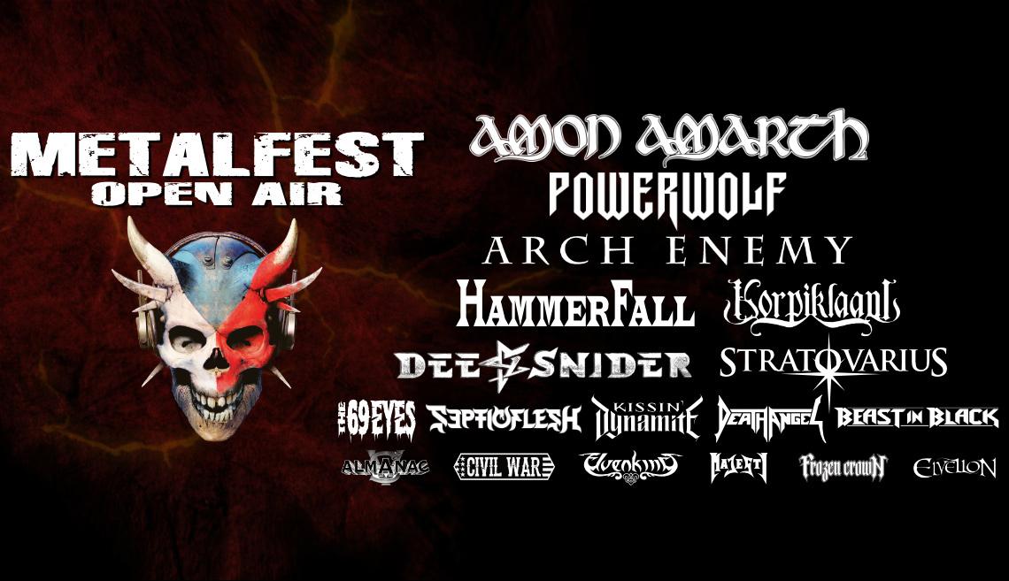 MetalFest 2019 | Zdroj: Pragokoncert Bohemia a.s. – www.mastersofrock.cz