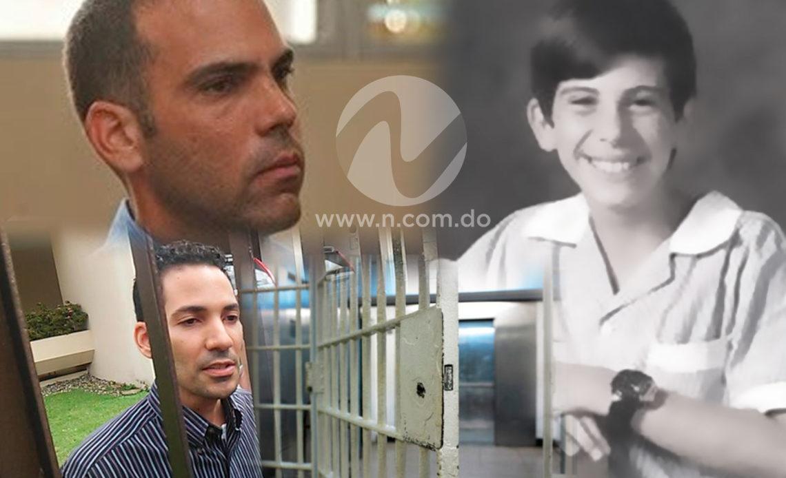 Collage del asesinato de Llenas Aybar