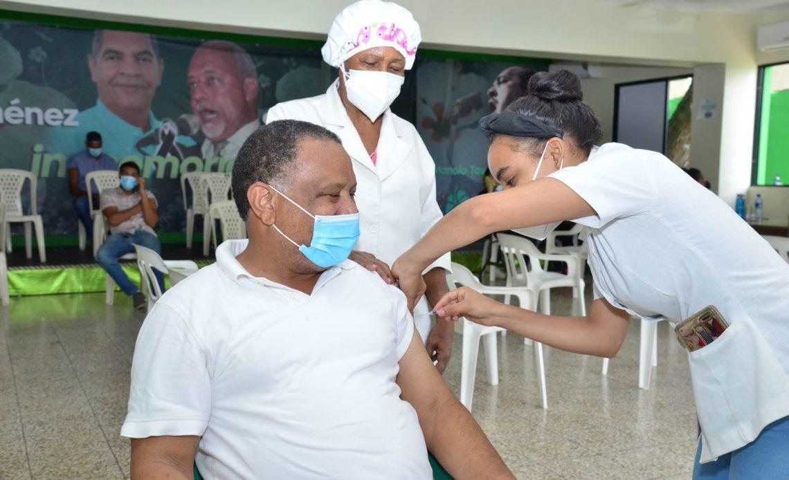 Vacunados en casa nacional de la FP