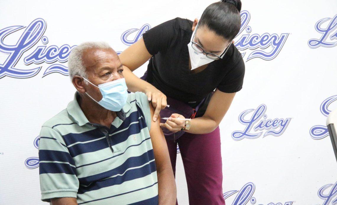 Licey dice sus fanáticos han respondido al llamado de vacunarse en el Quisqueya
