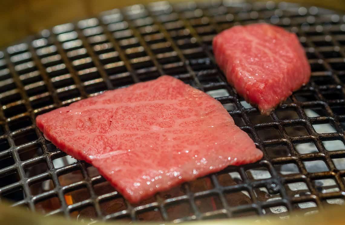 Hida vlees in Japan