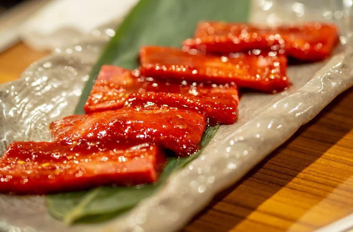 Kobe vlees in Japan