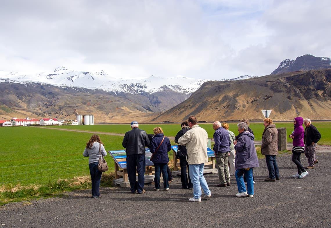 Georganiseerde tour naar IJsland