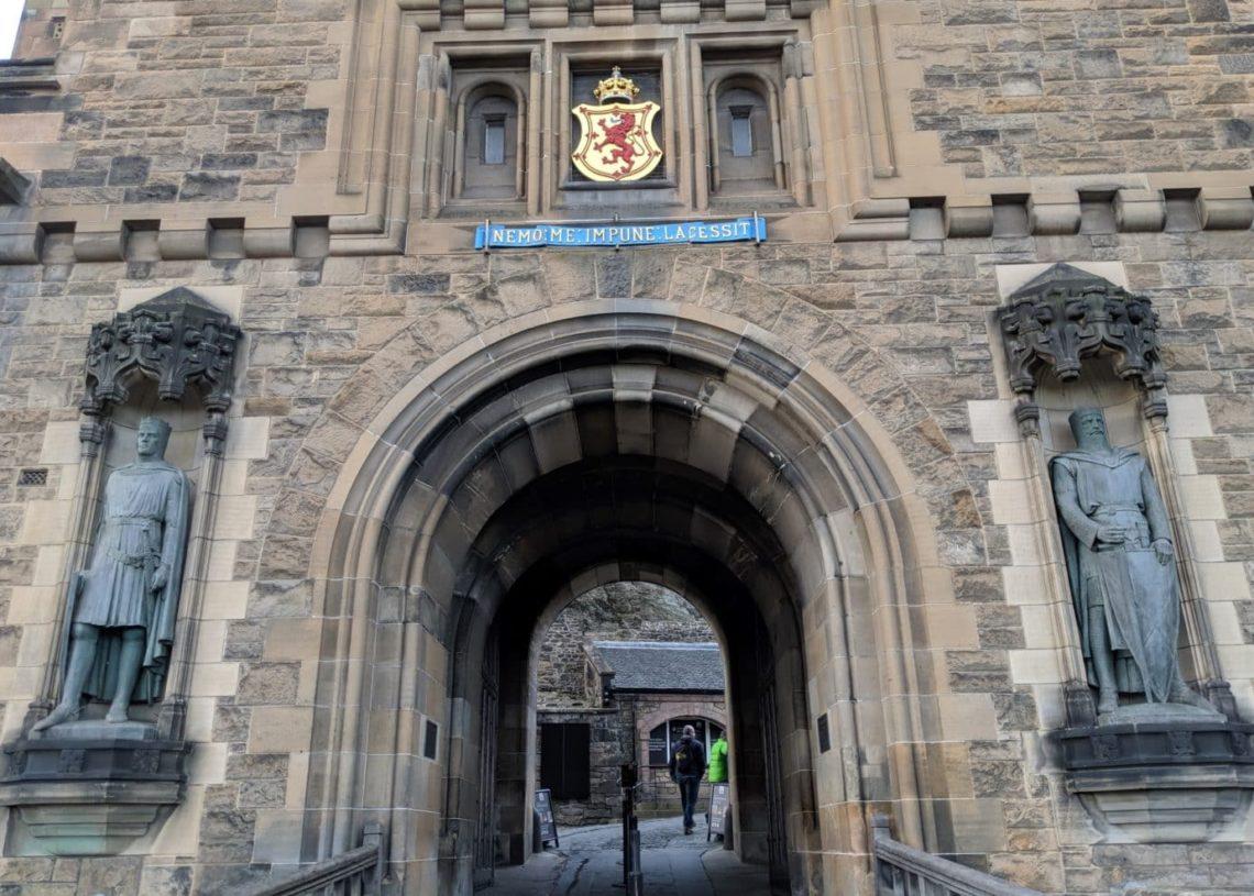 Playground Earth | Edinburgh | Castle Entrance