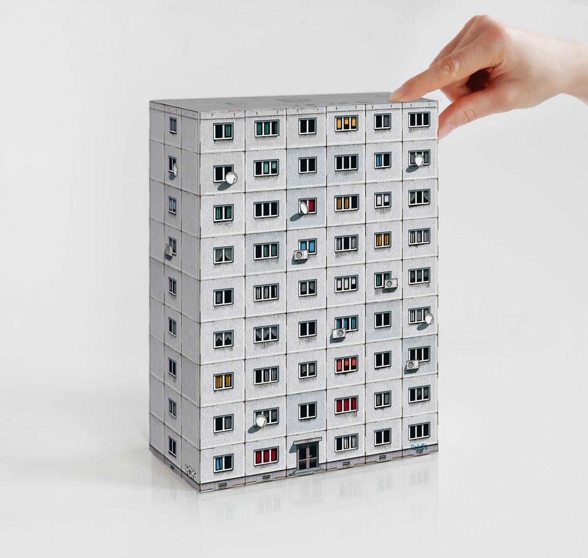 "Zupagrafika ""Panelki: Construct Your Socialist Prefab Panel Block"""