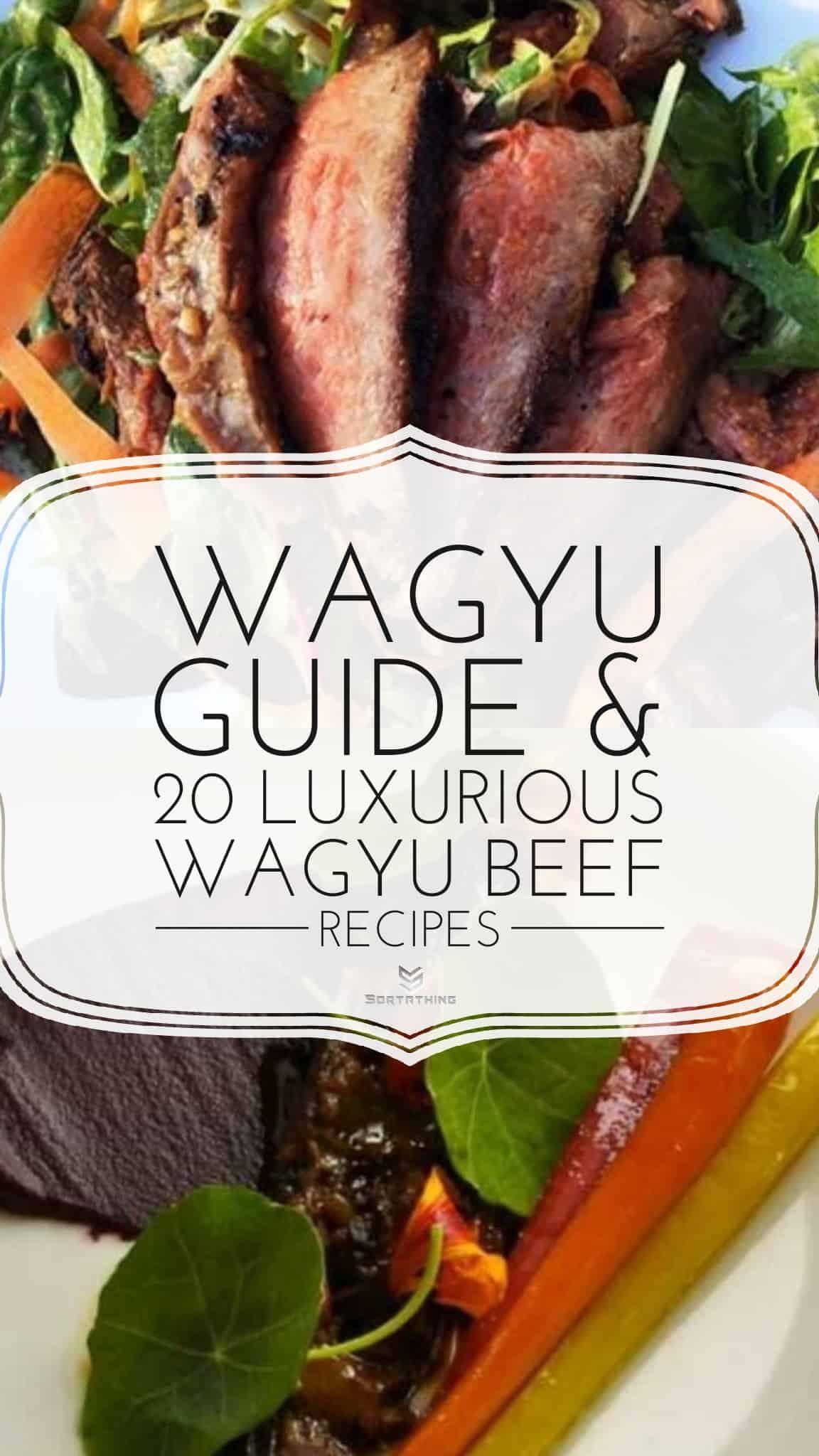 Wagyu Rib Lifter Salad and Braised Wagyu Oxtail