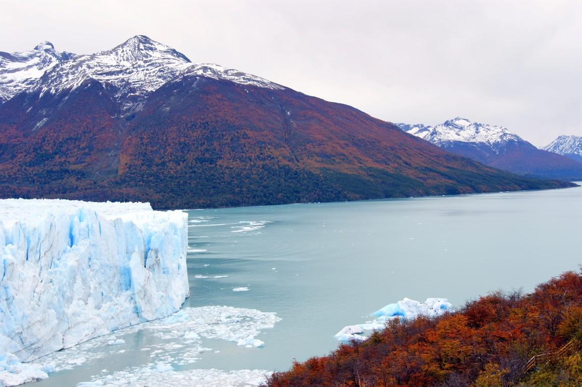 ledovec Perito Moreno, Argentina
