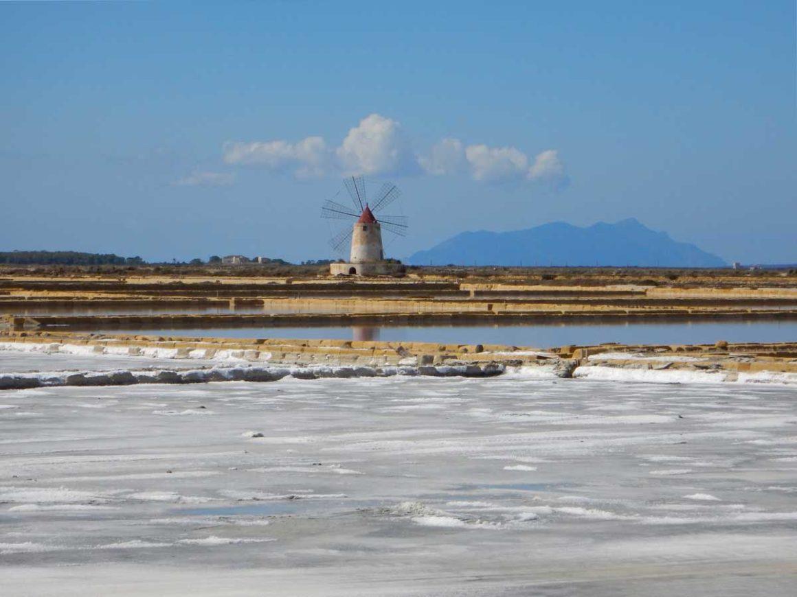 Saline della Riserva dello Stagnone di Marsala, Sicilia