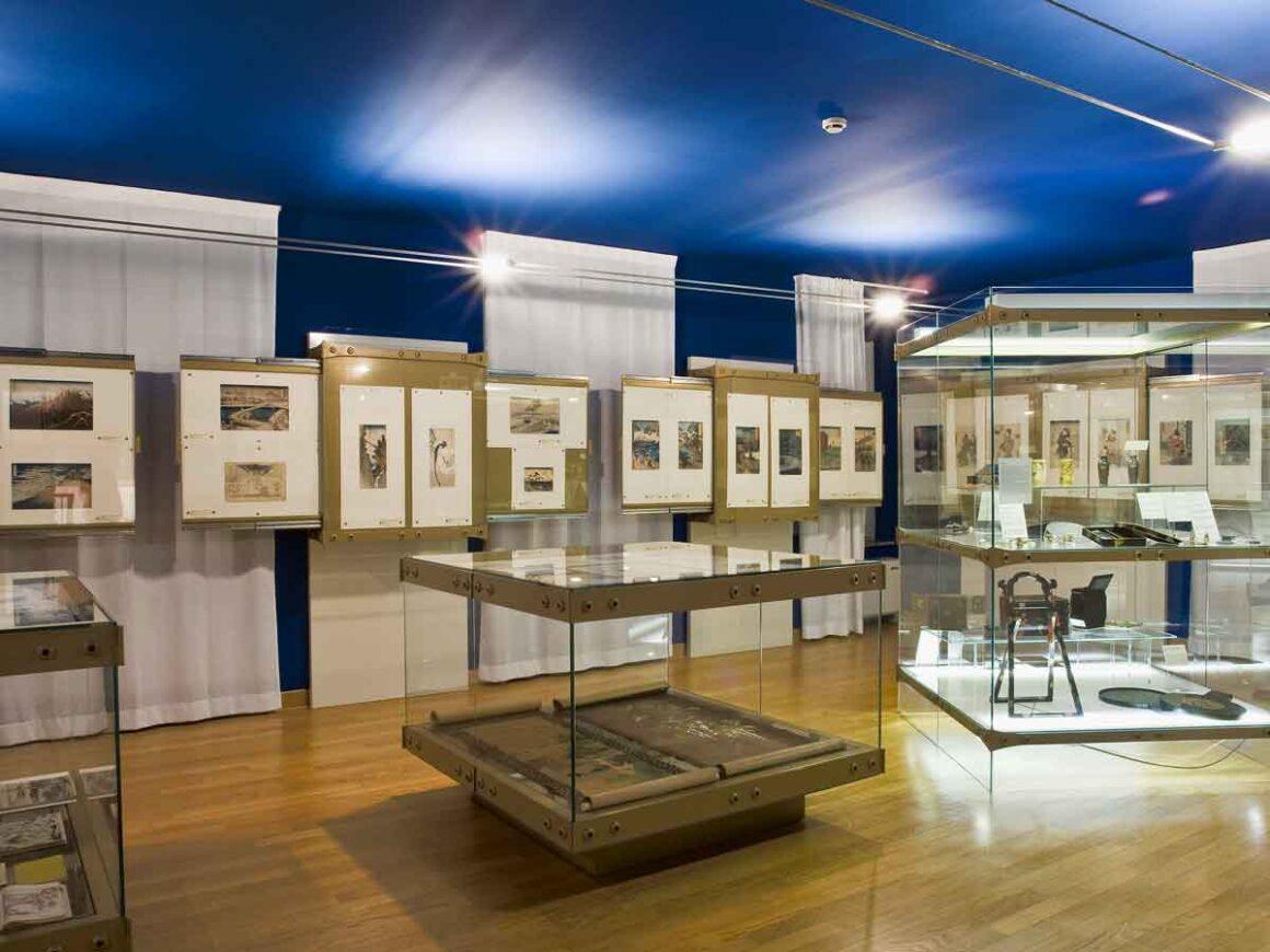 Sala al II piano del Museo d'arte Orientale Trieste
