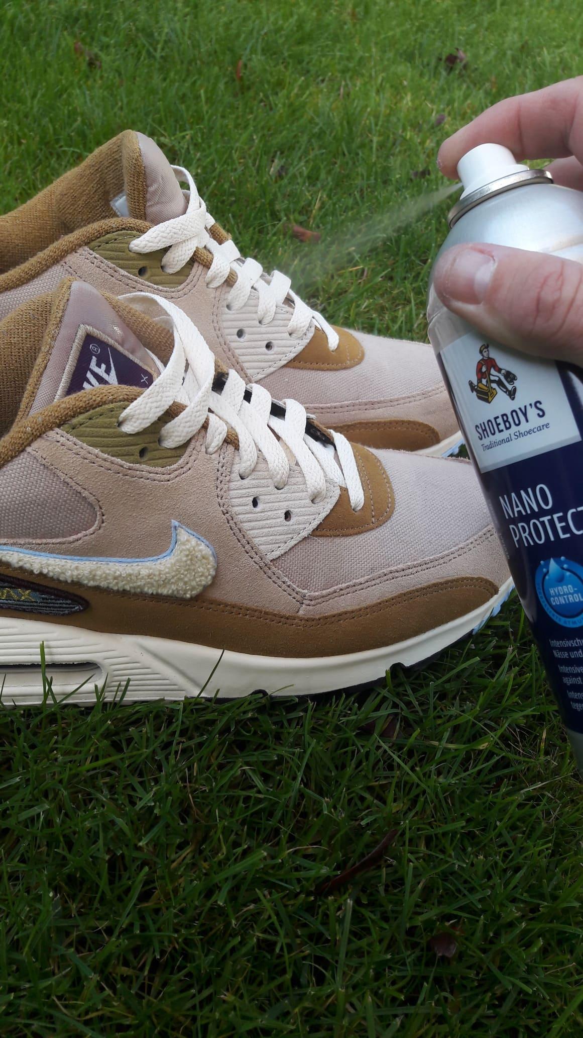 sneakers beschermen